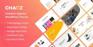 Chaoz – Creative Portfolio WordPress Theme For Agency