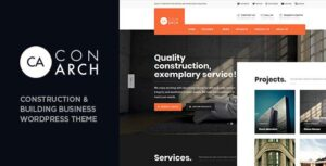 Con Arch – Construction & Building Business WordPress Theme
