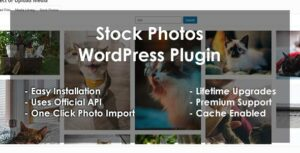 Stock Photos – WordPress Plugin