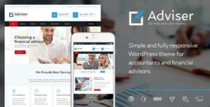 Adviser | A Modern Finance & Accounting WordPress Theme