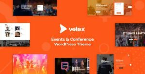 Vetex – Event & Conference WordPress Theme