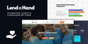 Lend a Hand – Foundation & Charity WordPress Theme