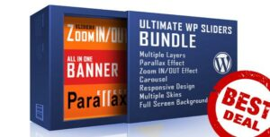 WordPress Sliders Bundle – Layers, Parallax, Zoom