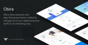 Obira – SaaS Business & App Showcase WordPress Theme