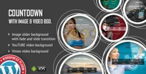 CountDown With Image or Video Background – Responsive WordPress Plugin