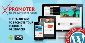 xPromoter – Top Bar Switcher Responsive WordPress Plugin