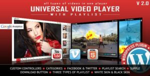 Universal Video Player – WordPress Plugin