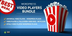 HTML5 Video Players WordPress Plugins Bundle