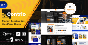 Contio – Construction & Building WordPress