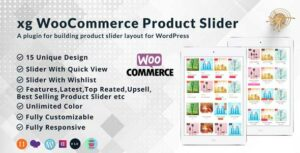 xg WooCommerce product slider | product quick view | product  wishlist all in one product slider.
