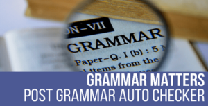 Grammar Matters – Automatic Grammar Checker Plugin for WordPress