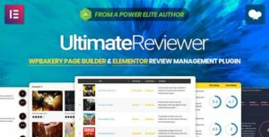 Ultimate Reviewer – Elementor & WPBakery Page Builder Addon