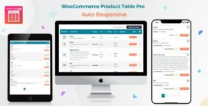 Woo Product Table Pro – WooCommerce Product Table view solution