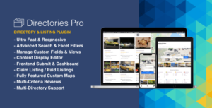 Read more about the article Directories Pro plugin for WordPress