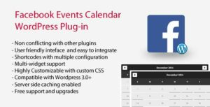 Facebook Events Calendar – WordPress Plugin