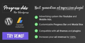 Progress Ads – WordPress Skippable Ads Plugin