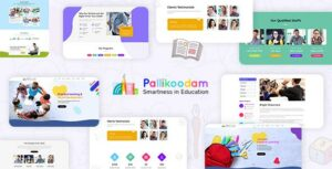 Pallikoodam – Kids School WordPress Theme