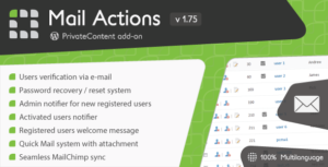 Read more about the article PrivateContent – Mail Actions add-on