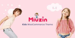 Miuzin – Kids WooCommerce WordPress Theme