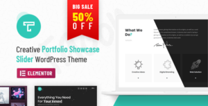 Tacon – A Showcase Portfolio WordPress Theme