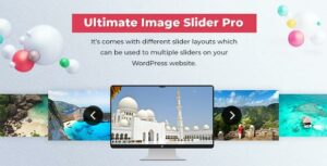 Slider – Ultimate Image Slider Pro For WordPress