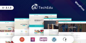 TechEdu – Education WordPress Theme