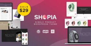 Shopia – Single Product WooCommerce WordPress Theme