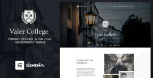 Valer – School & College WordPress Theme