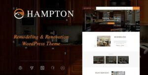 Hampton | Home Design and Renovation WordPress Theme