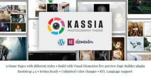 Kassia – Photography WordPress Elementor Theme