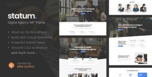 Statum – Business & Agency WordPress Theme