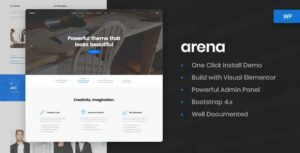 Arena – Business & Agency WordPress Theme