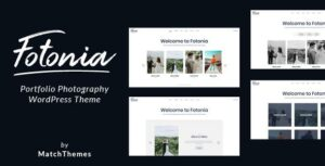 Fotonia – Portfolio Photography Theme for WordPress