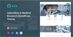 Ninedok – Laboratory & Research WordPress Theme