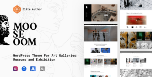 Mooseoom – Art Gallery, Museum & Exhibition WordPress