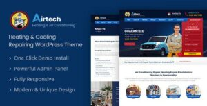 Airtech – Plumber WordPress theme