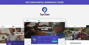 Read more about the article TanTum | Car, Scooter, Boat & Bike Rental Services WordPress Theme