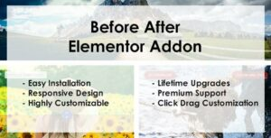 Before After – Elementor Addon