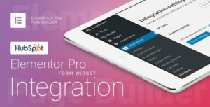 Elementor Pro Form Widget – HubSpot – Integration