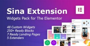 SEFE – Sina Extension for Elementor