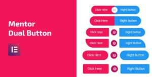 Mentor Dual Button – Dual Button Addon For Elementor