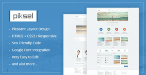 Piksel –  Creative and Portfolio WordPress Theme