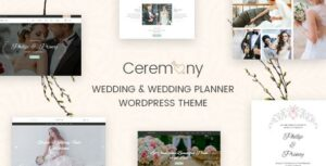 Ceremony – Wedding Planner WordPress Theme