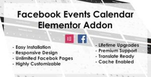 Facebook Events – Elementor Addon