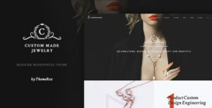 Custom Made | Jewelry Manufacturer and Store WordPress Theme