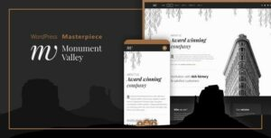Monument Valley – Accessible WooCommerce & Business Masterpiece