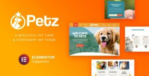Petz – Pet Care & Veterinary Theme