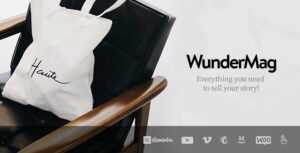 WunderMag – A WordPress Blog / Magazine Theme