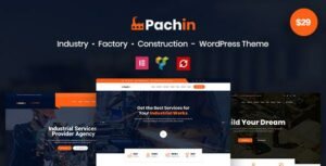 Pachin – Industry & Factory WordPress Theme