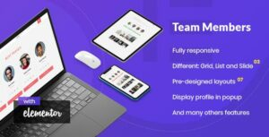 Noo Team Member – Addon for Elementor Page Builder
